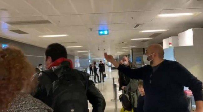 Havalimanında test parası kavgası