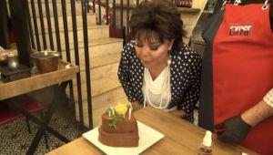 Faik Öztürk'ten Safiye Soyman'a dezenfekte çiğköfte