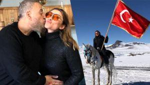 Selen Görgüzel'e doğum günü sürprizi! Beyaz atlı kutlama