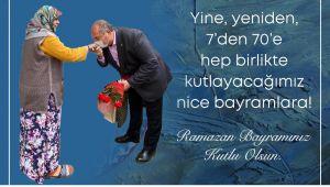 CHP FETHİYE İLÇE BAŞKANI MEHMET DEMİR' DEN BAYRAM MESAİSİ