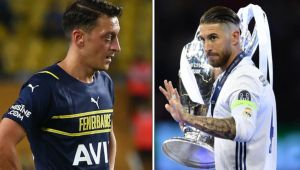 Mesut Özil, yeni transfer Kim Min-Jae'yi eski takım arkadaşı Sergio Ramos'a benzetti