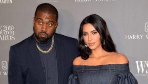 Kim Kardashian eski eşi Kanye West'i evden attı!